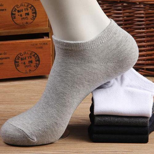 男船袜 全棉男士袜子春夏季薄款浅口隐形船袜短袜厂家批发