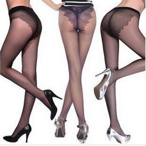 女士丝袜子 10D超薄无痕 比基尼连裤丝袜 包芯丝蝴蝶裆