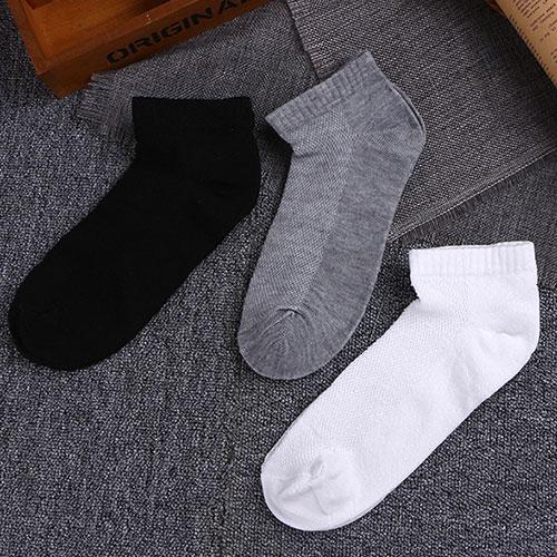 网眼运动袜子 船袜地板袜 低邦 男款 春夏 薄 批发