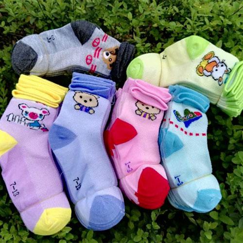 春夏薄款卡通网眼儿童袜子批发 地摊袜子批发 厂家直销