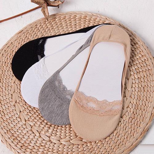 女士花边全棉超薄浅口隐形袜子批发  厂家直供