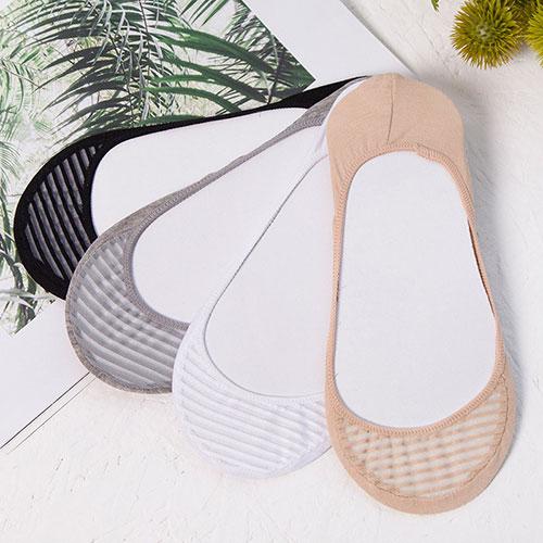 夏季 女士百搭条纹浅口吸汗透气隐形袜子厂家批发