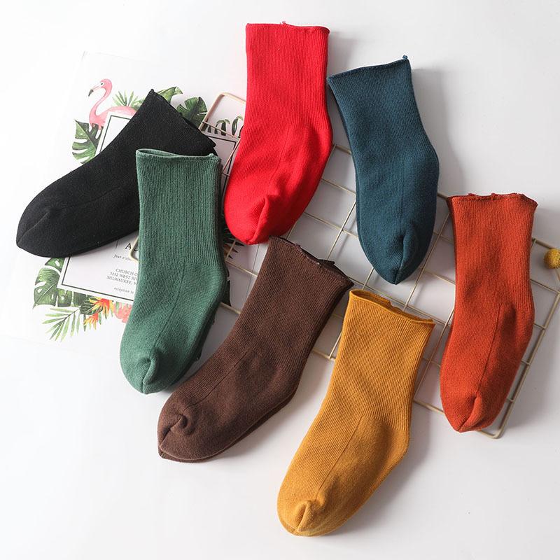 冬季儿童 加厚保暖 带脚后跟雪地袜子 独立包装