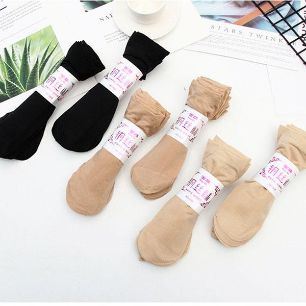 女士薄款面膜钢丝袜 耐磨防勾丝天鹅绒丝袜子