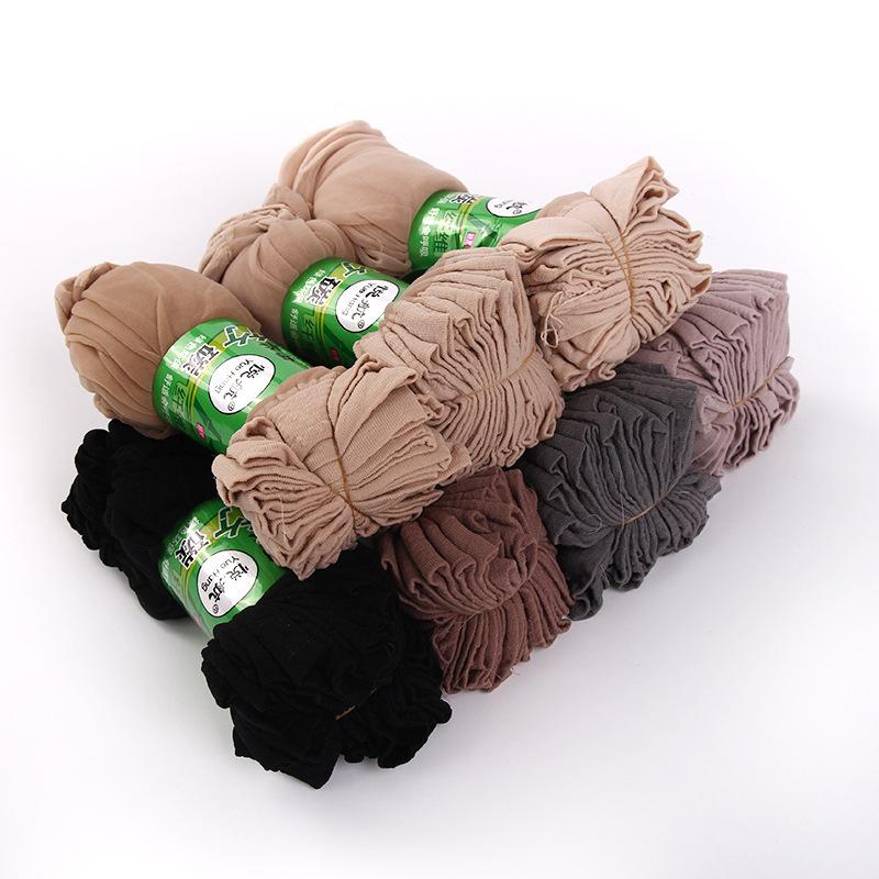 大色 韩版水晶丝袜子 女士 超薄 超弹力