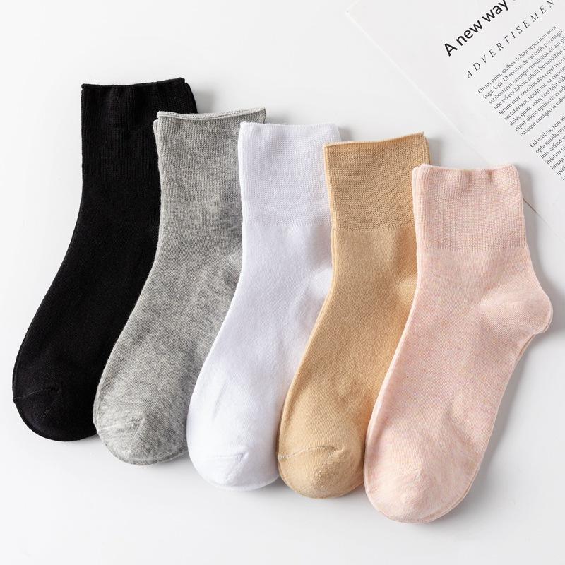 春秋款 女士孕妇产妇保健袜 不勒腿宝妈袜松口袜子批发