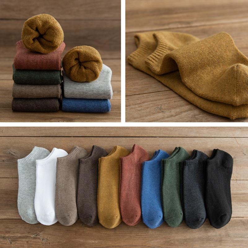 秋冬 男女 加厚加绒保暖 短筒毛巾底毛圈袜子